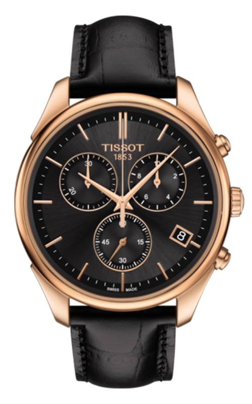Tissot T-Gold Vintage 18K Rose Gold Watch T9204177644100 product image