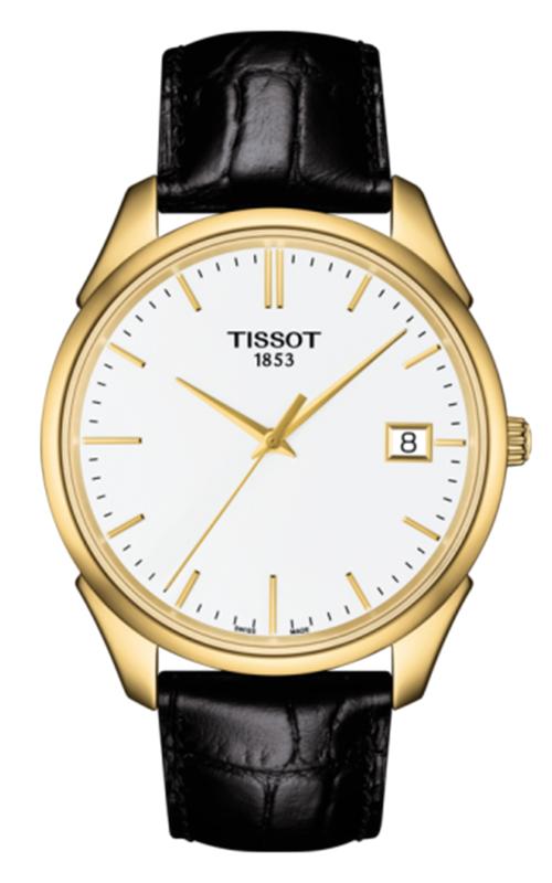 Tissot T-Gold Vintage 18K Gold Watch T9204101601101 product image