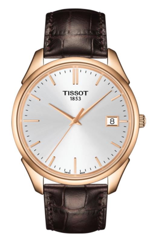 Tissot T-Gold Vintage 18K Rose Gold Watch T9204107603100 product image
