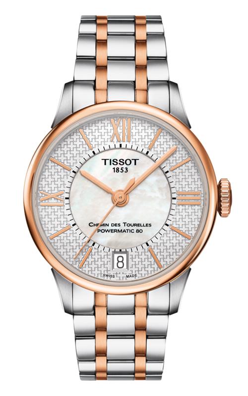 Tissot T-Classic Chemin Des Toureless Powermatic 80 Lady Watch T0992072211801 product image