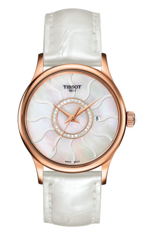 Tissot T-Gold Rose Dream Lady Watch T9142104611600 product image