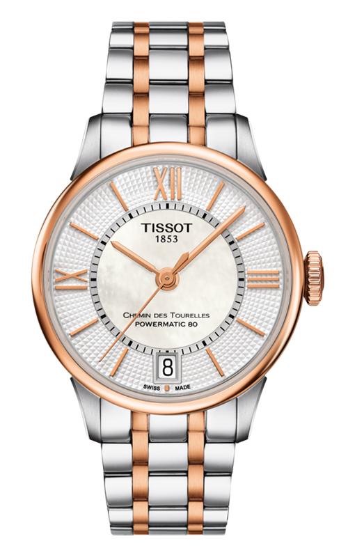 Tissot T-Classic Chemin Des Toureless Powermatic 80 Lady Watch T0992072211802 product image