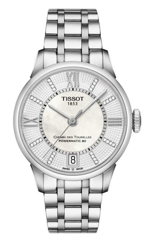 Tissot T-Classic Chemin Des Toureless Powermatic 80 Lady Watch T0992071111600 product image