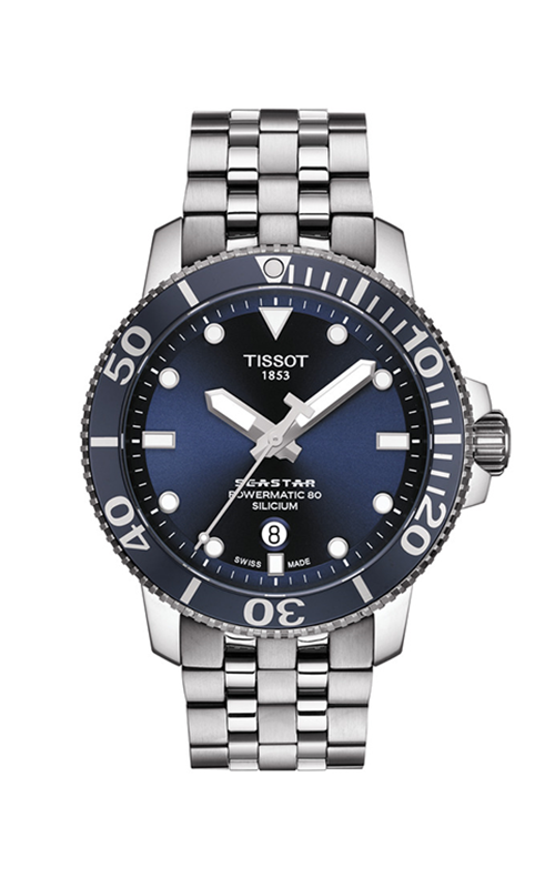 Tissot T-Sport Seastar 1000 Powermatic 80 Watch T1204071104101 product image