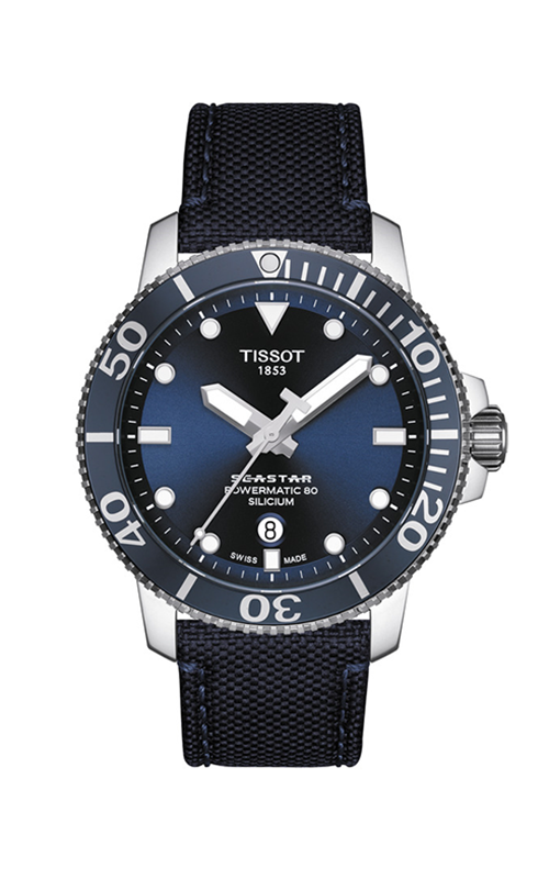 Tissot T-Sport Seastar 1000 Powermatic 80 Watch T1204071704101 product image