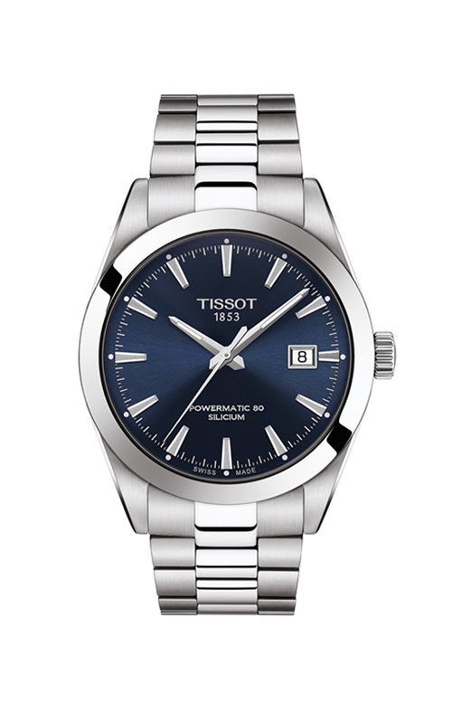Tissot T-Classic Gentleman Powermatic 80 Silicium Watch T1274071104100 product image