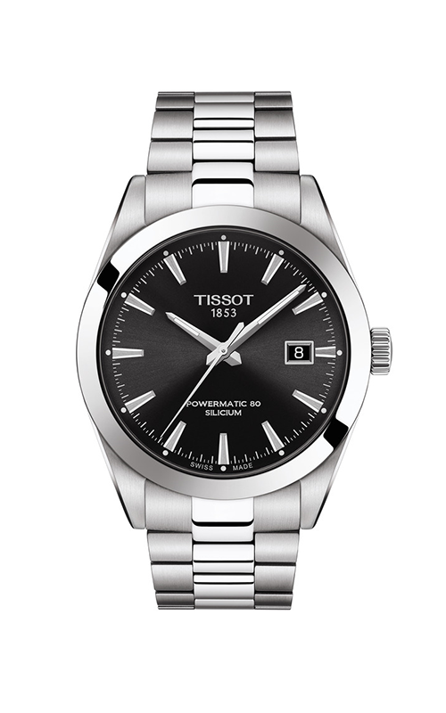 Tissot T-Classic Gentleman Powermatic 80 Silicium Watch T1274071105100 product image