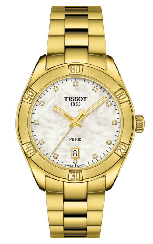 Tissot T-Classic PR 100 Lady Sport Chic Watch T1019103311601 product image