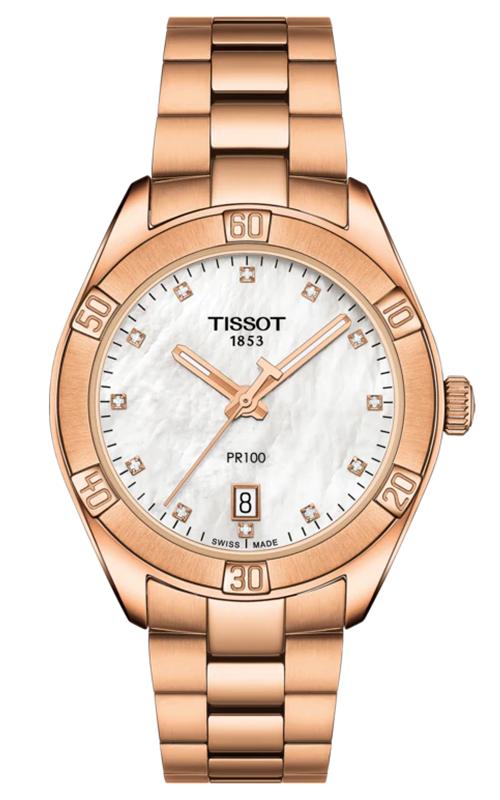 Tissot T-Classic PR 100 Lady Sport Chic Watch T1019103311600 product image