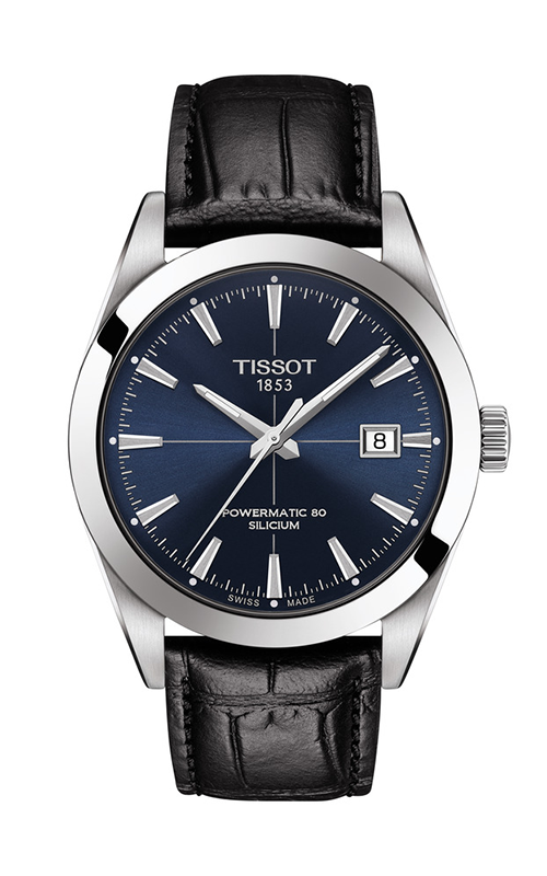 Tissot T-Classic Gentleman Powermatic 80 Silicium Watch T1274071604101 product image