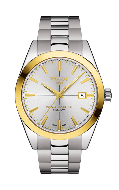 Tissot T-Classic Gentleman Powermatic 80 Silicium Watch T9274074103101 product image