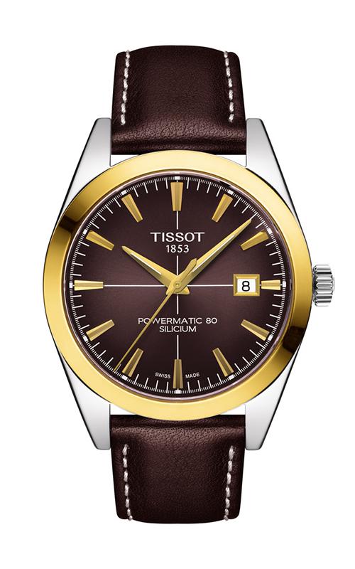Tissot T-Classic Gentleman Powermatic 80 Silicium Watch T9274074629101 product image