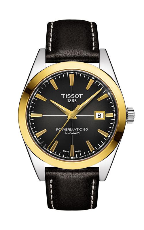Tissot T-Classic Gentleman Powermatic 80 Silicium Watch T9274074606101 product image