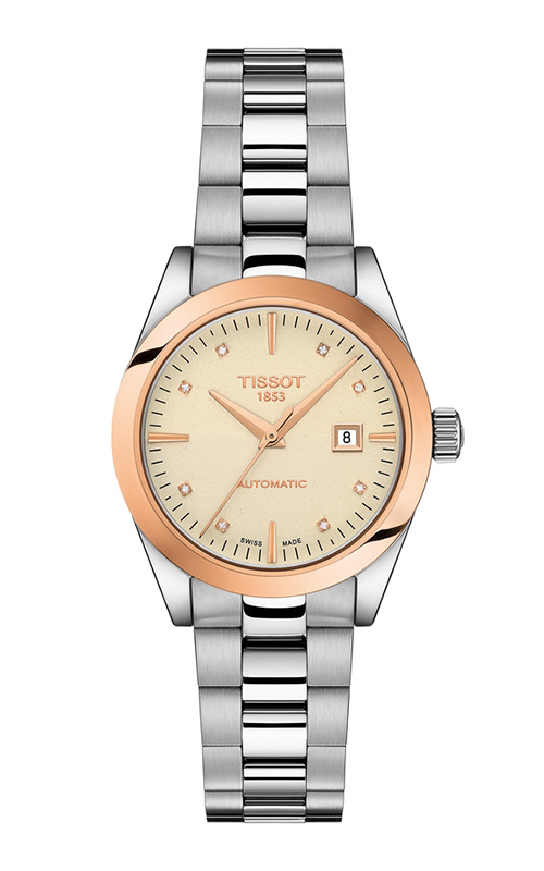 Tissot T-Gold T-My Lady Automatic 18K Gold Watch T9300074126600 product image