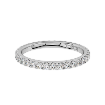 Prong Style Diamond Wedding band  | 0.71 ctw