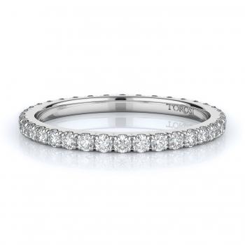 Prong Style Diamond Wedding band  | 0.75 ctw