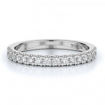 Prong Style Diamond Wedding band  | 0.35 ctw