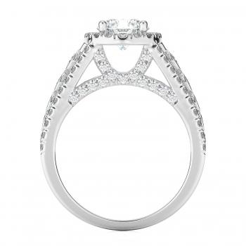 Halo Style Diamond Engagement ring