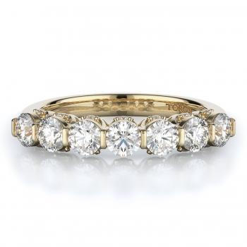 Prong Style Diamond Wedding band  | 0.94 ctw