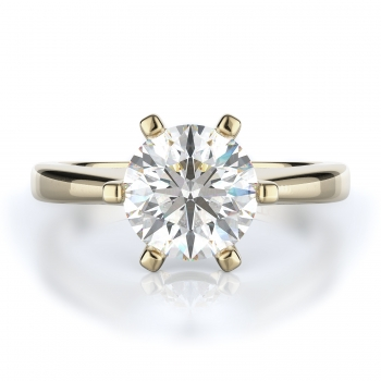 Solitaire Style Diamond Engagement ring 