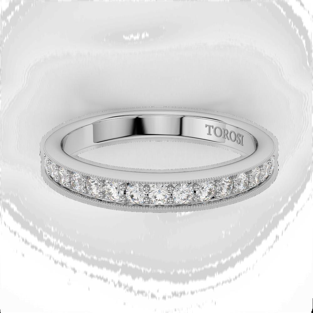 Pave Style Diamond Wedding band  | 0.22 ctw product image