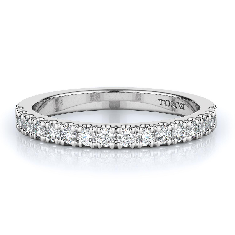 Prong Style Diamond Wedding band  | 0.35 ctw product image