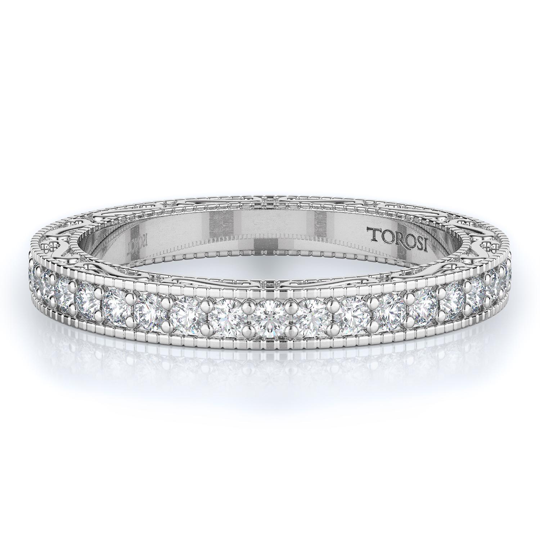 Pave Style Diamond Wedding band  | 0.60 ctw product image