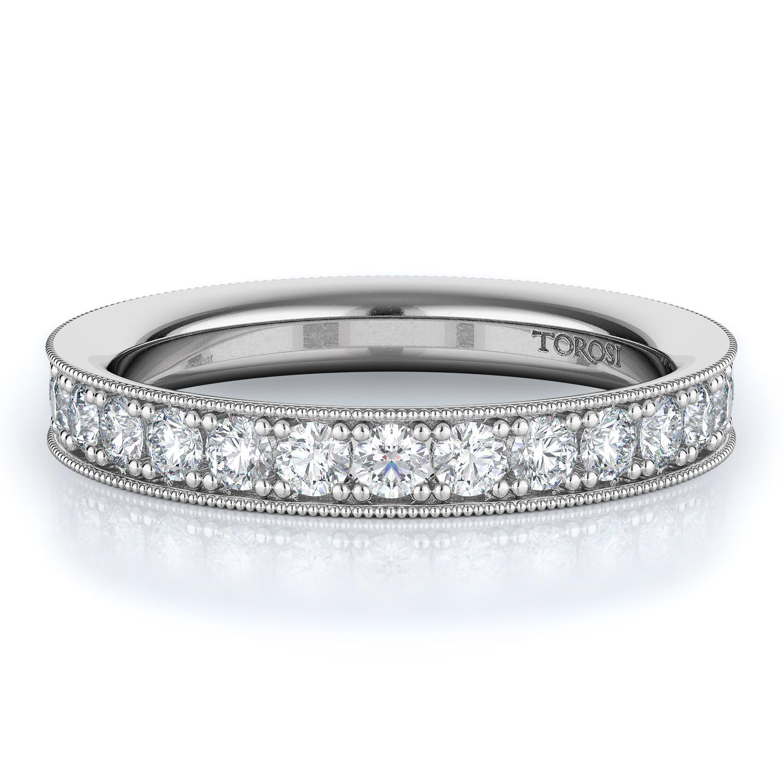 Pave Style Diamond Wedding band    1.40 ctw product image