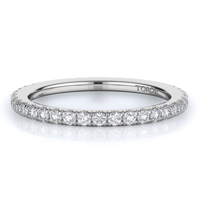 Prong Style Diamond Wedding band  | 0.75 ctw product image