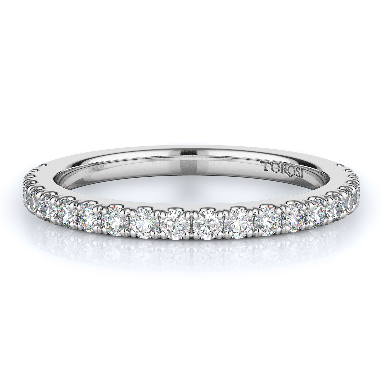 Prong Style Diamond Wedding band  | 0.45 ctw product image