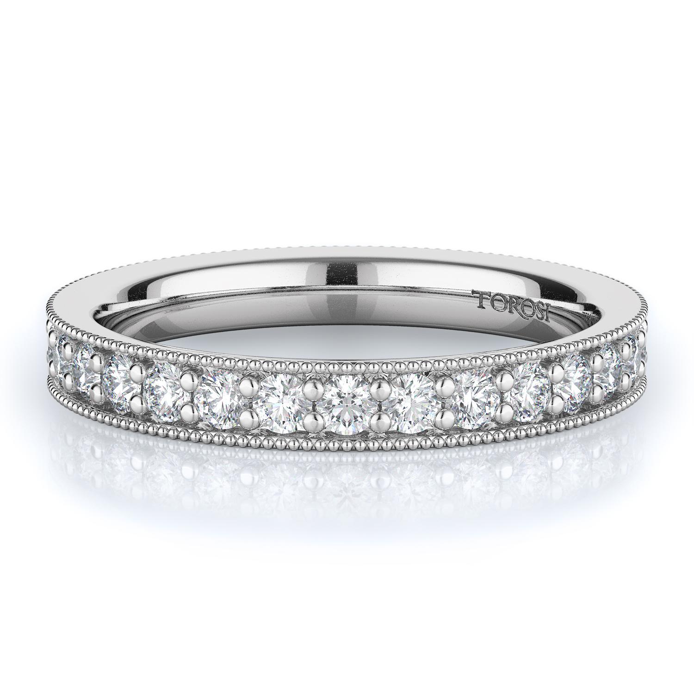 Pave Style Diamond Wedding band    0.80 ctw product image