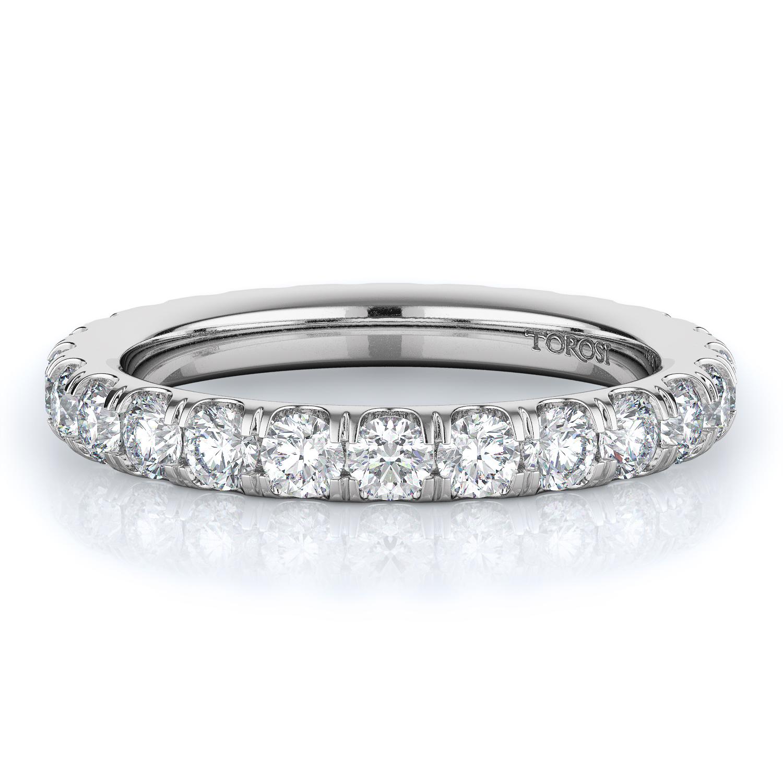 Prong Style Diamond Wedding band  | 1.56 ctw product image