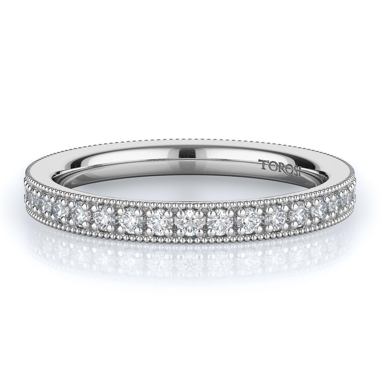 Pave Style Diamond Wedding band  | 0.50 ctw product image
