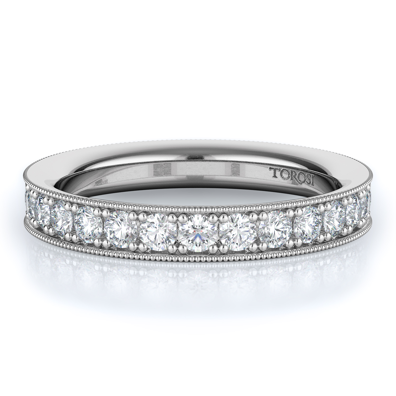 Pave Style Diamond Wedding band  | 1.40 ctw product image