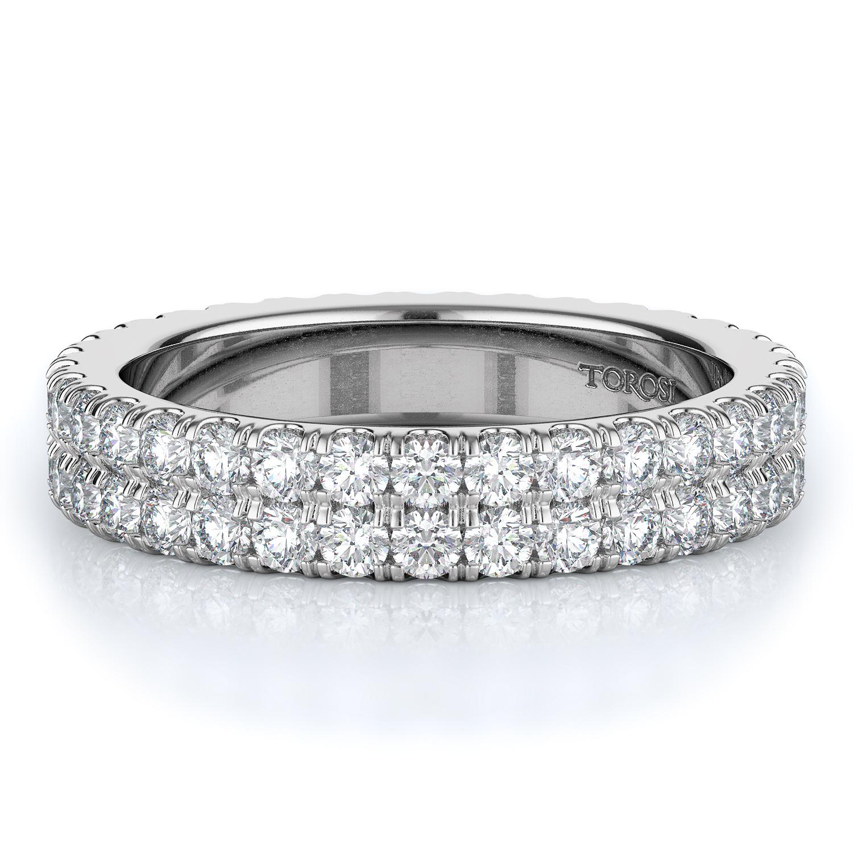 Prong Style Diamond Wedding band  | 1.35 ctw product image