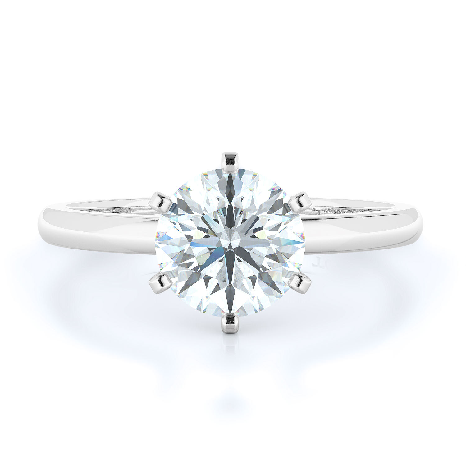 Solitaire Style Diamond Engagement ring product image