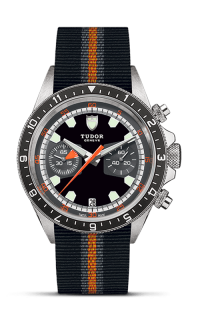 <span class='model_name'> Heritage Chrono 42mm Steel</span> <br/> <span class='model_number'>M70330N-0003</span>  product image