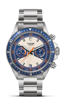 <span class='model_name'> Heritage Chrono Blue 42mm Steel</span> <br/> <span class='model_number'>M70330B-0004</span>  product image