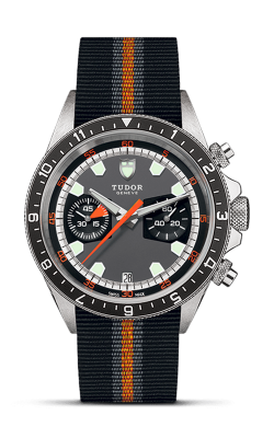 <span class='model_name'> Heritage Chrono 42mm Steel</span> <br/> <span class='model_number'>M70330N-0004</span>  product image