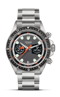 <span class='model_name'> Heritage Chrono 42mm Steel</span> <br/> <span class='model_number'>M70330N-0006</span>  product image