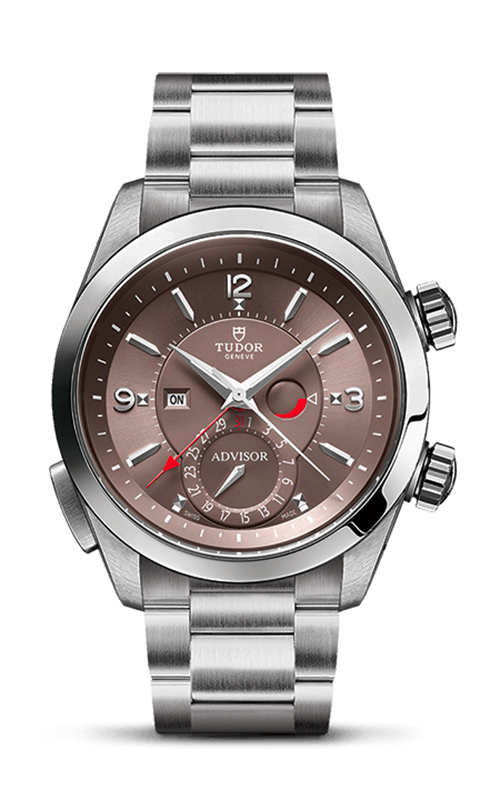 Heritage Advisor 42mm Titanium and Steel product image