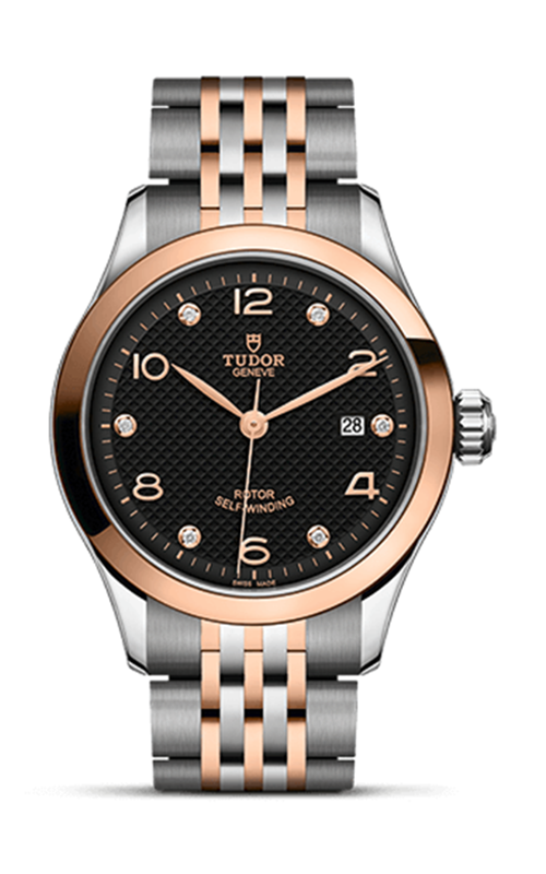 1926 28mm Steel and Rose Gold product image