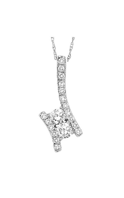 Twogether 14K Diamond Two Stone Pendant TWO1001-75 product image