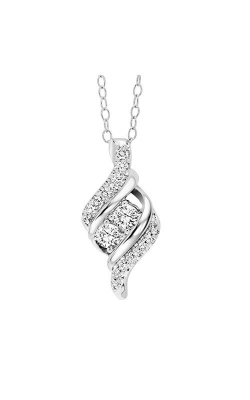 Twogether 14K Diamond Two Stone Pendant TWO1033-50 product image