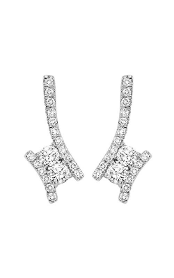 Twogether 14K Diamond Two Stone Earrings TWO2001-25 product image