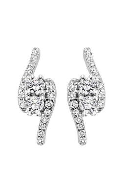 Twogether 14K Diamond Two Stone Earrings TWO2002-100 product image