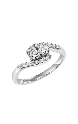 Twogether 14K Diamond Two Stone Engagement Ring TWO3002-200 product image