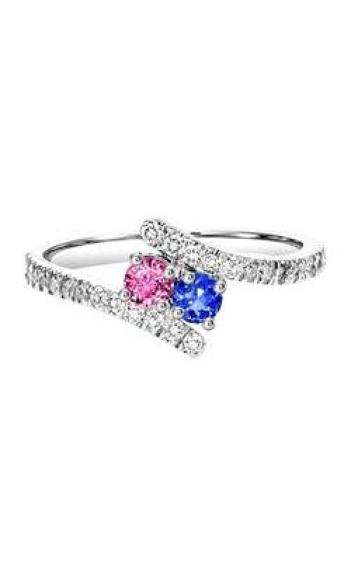 Twogether 14K Diamond Two Stone Engagement Ring TWO3018-3 product image