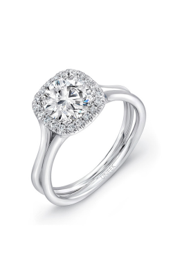 Uneek Silhouette Engagement ring LVS949-6.5RD product image