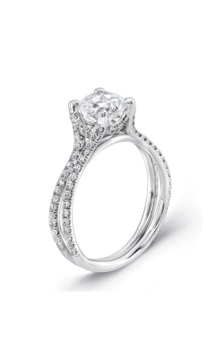 Uneek Silhouette Engagement Ring LVS965 product image